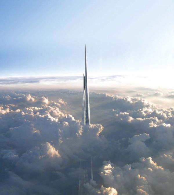 Tallest Tower in the World to Measure 3,280 Feet High! (1)