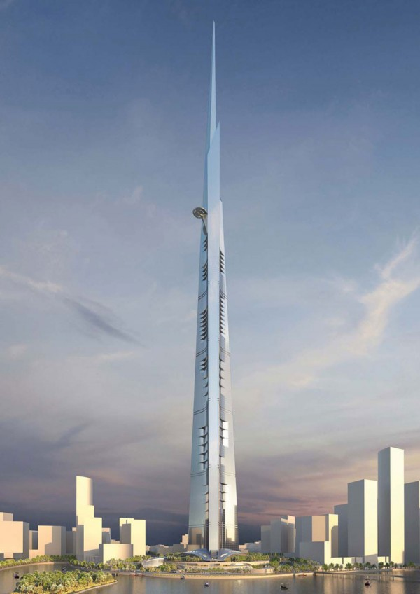 Tallest Tower in the World to Measure 3,280 Feet High! (6)