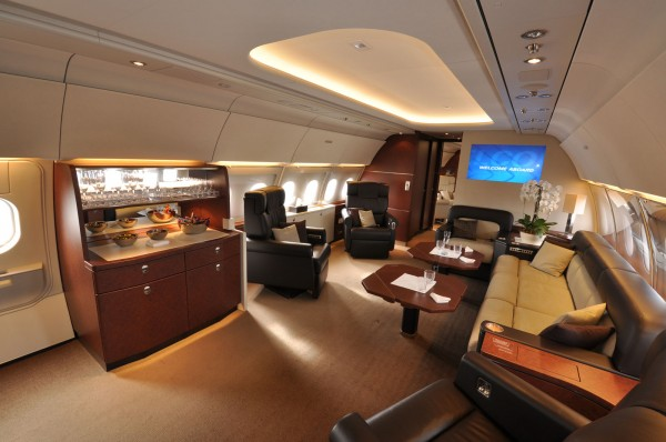 Airbus ACJ318 Private Jet Home and Office (2)