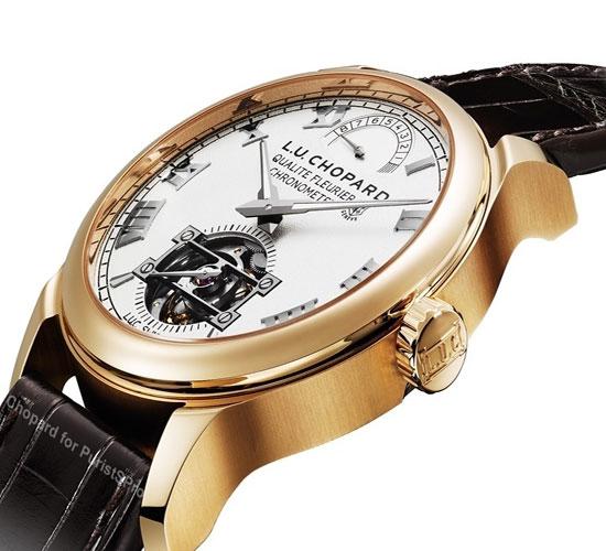 L.U. Chopard Triple Certification Tourbillon Watch (1)