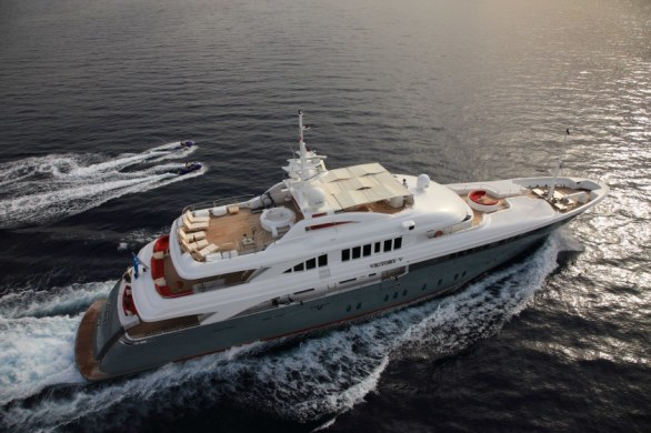 The Luxurious Victory V Superyacht by Lamda N Shipyard (2)