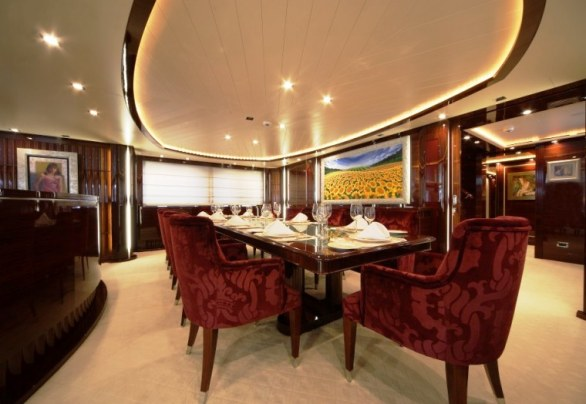 The Luxurious Victory V Superyacht by Lamda N Shipyard (13)
