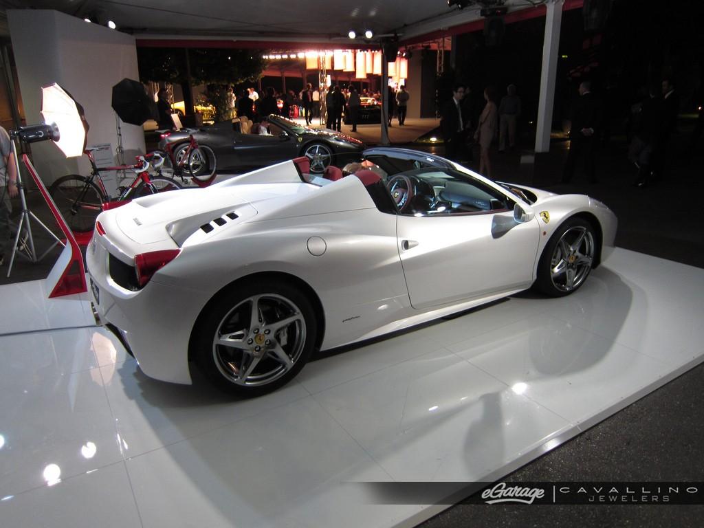 The Superb Ferrari 458 Spider 11