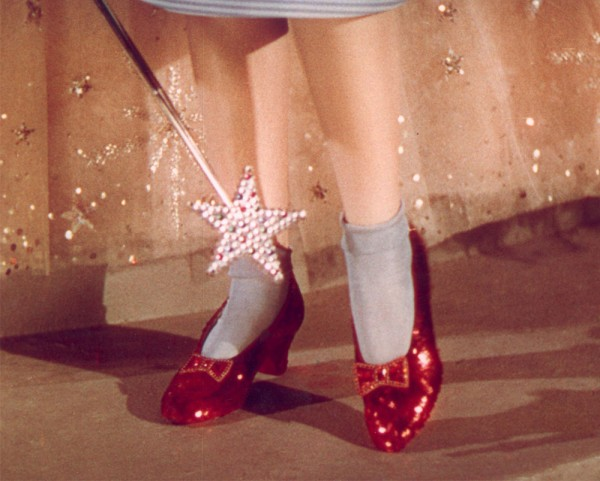 Wizard of Oz Ruby Red Shoes up for Auction (1)