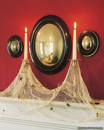 Cobweb Candles