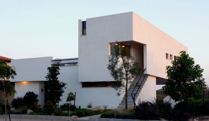 Desert Villa by Uri Cohen Architects (11)