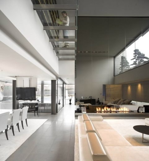 The Spectacular Open Box Residence by A-cero (3)