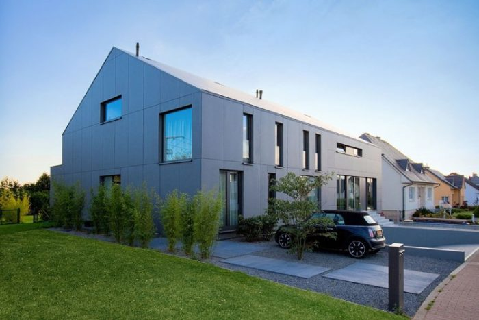 Two Row Houses in Luxembourg by Metaform (11)