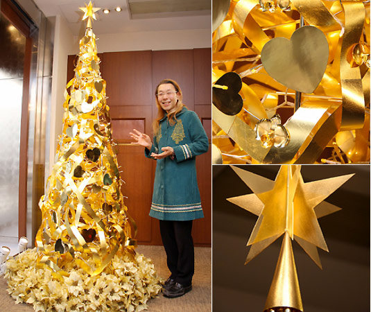 Golden Christmas Tree by Ginza Tanaka: $2 Million (1)
