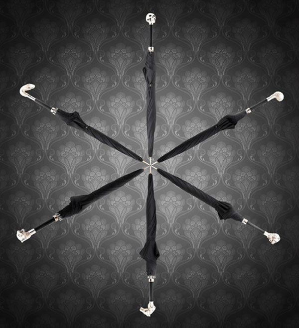 Swarovski-Studded Luxury Umbrellas by Archer Adams (1)