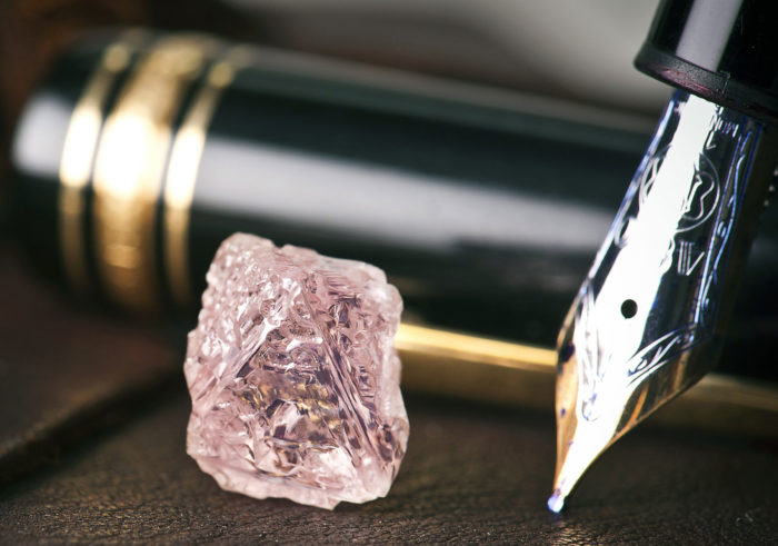 Australia's Largest Pink Rough Diamond Weighs 12.76 Carats