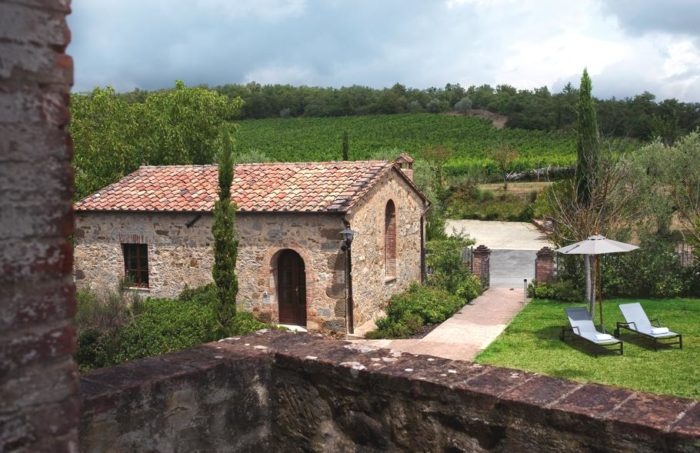 Buy a Luxe Property at the Castel Monastero Resort in Italy