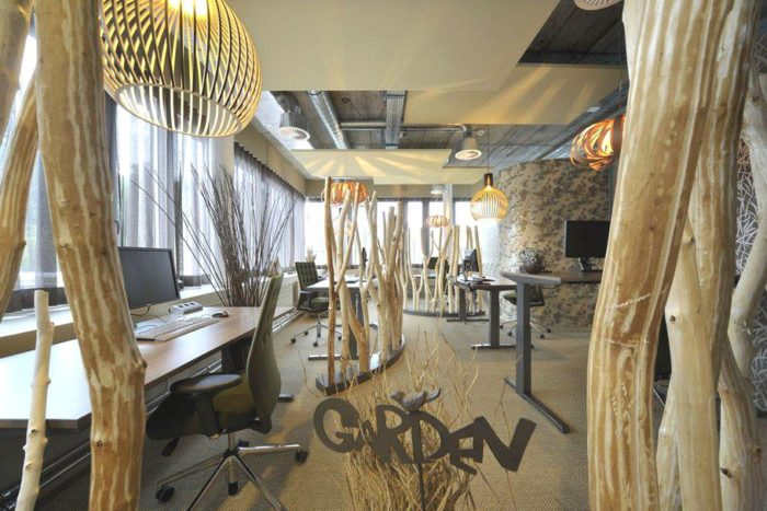 Unilever's Striking Office Spaces by Camenzind Evolution