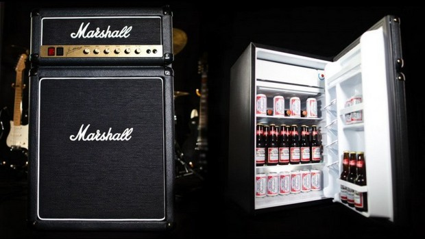 Chill Your Drinks in a Marshall Fridge Concept