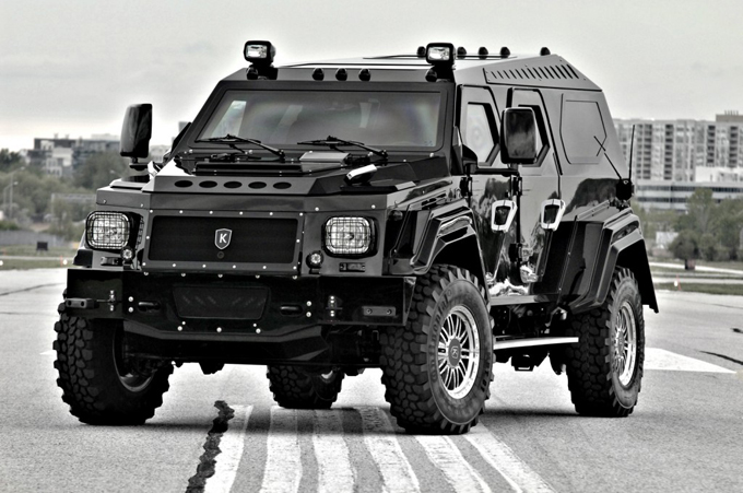 Knight XV Conquest Vehicles' Outstanding Armored Luxury SUV