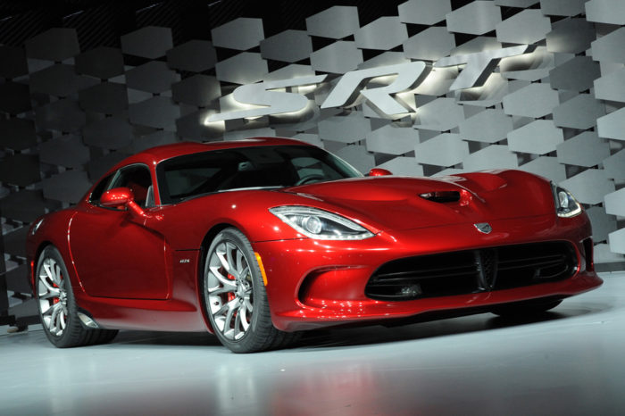 The Gorgeous 2013 Viper by SRT Finally Unveiled