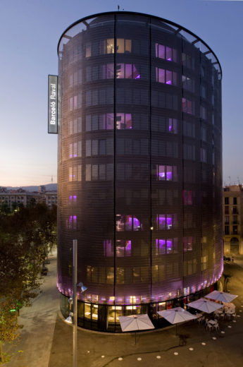 The Sophisticated Barceló Raval Hotel by CMV Architects