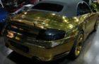 One-Off Golden Porsche 966 Turbo Cabriolet for Sale (2)