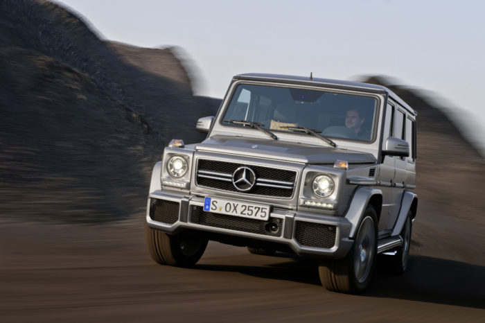 The 2013 G63 and G65 AMG Unveiled Before Beijing
