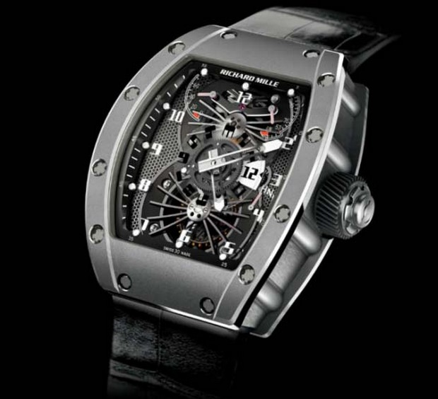 The Exquisite and Exclusive Richard Mille RM 022 Carbon Watch (1)