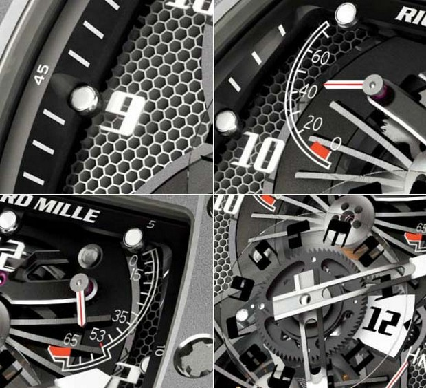The Exquisite and Exclusive Richard Mille RM 022 Carbon Watch (4)
