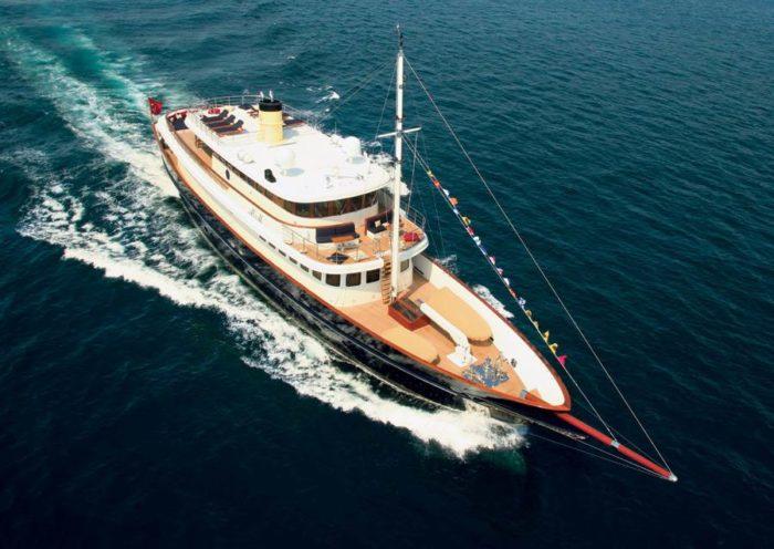 Classic M&M Superyacht by Bilgin Yachts (15)