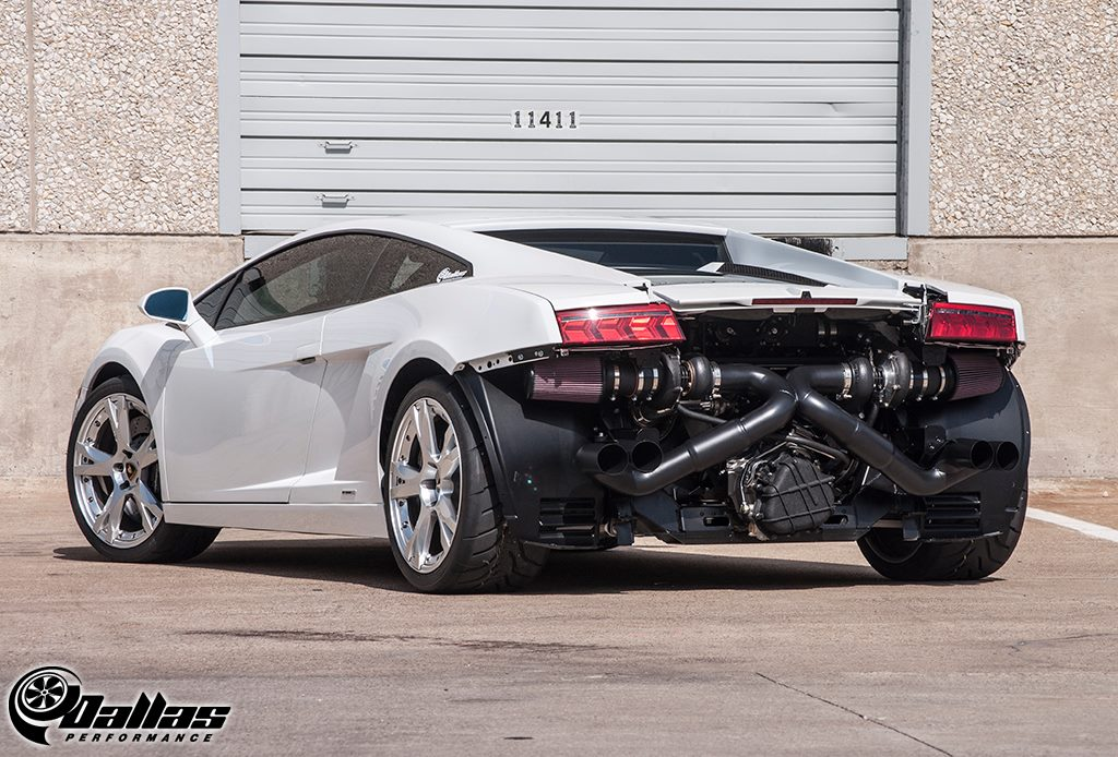 Dallas Performance's Twin Turbo Lamborghini Gallardo (10)