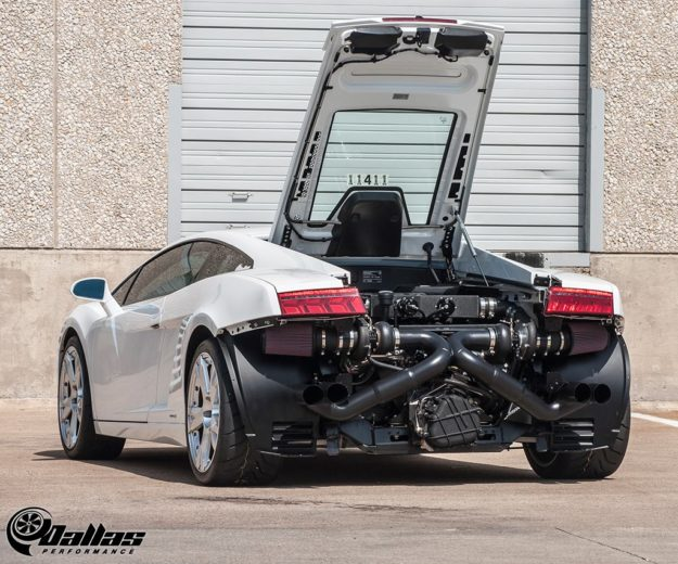 Dallas Performance's Twin Turbo Lamborghini Gallardo (7)