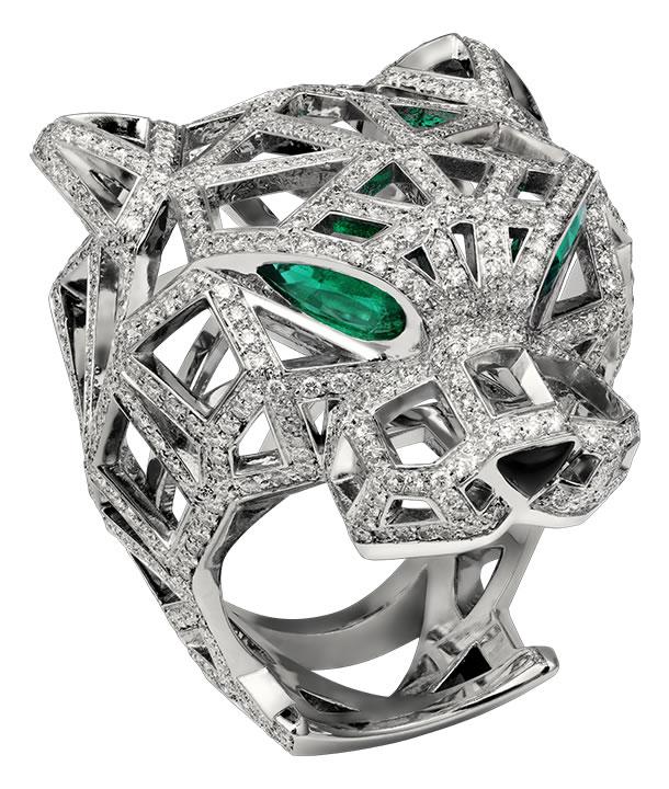 Diamond-Studded Panthère De Cartier Ring (4)