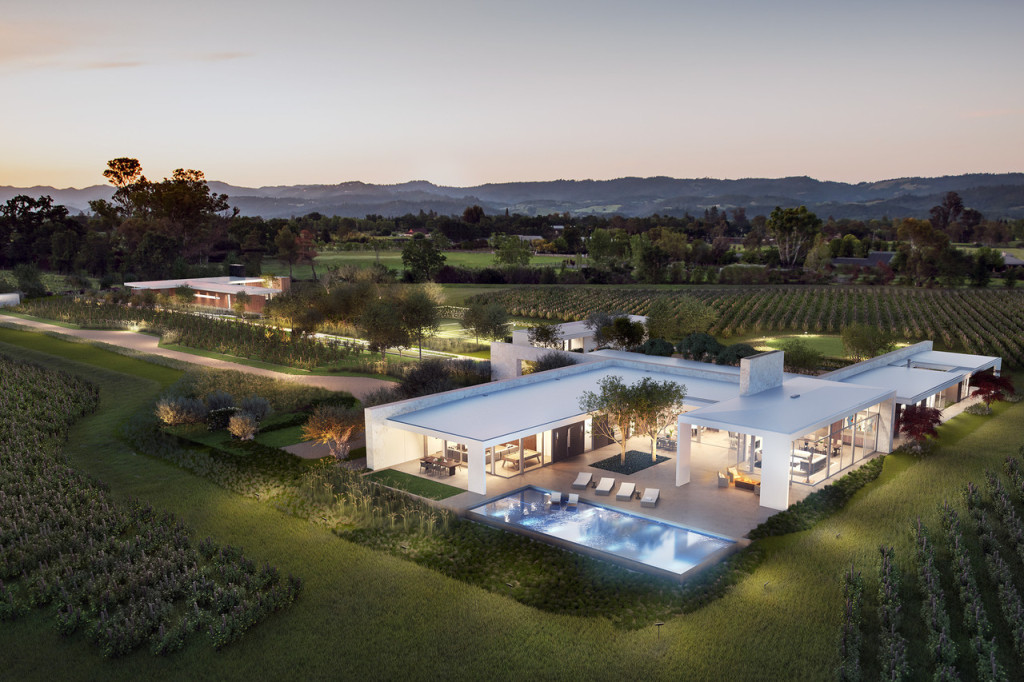 Expensive And Luxurious Home In Napa Valley (8)