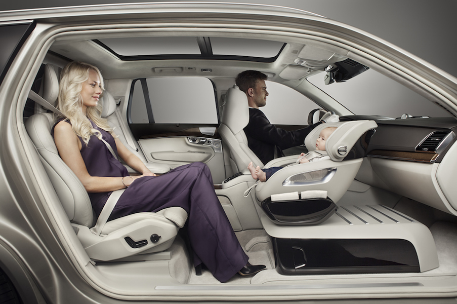 Luxurious Child Seat Concept By Volvo