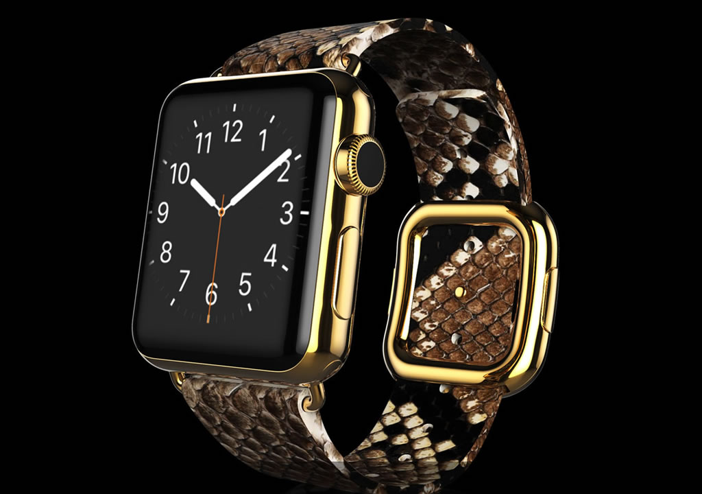 Ridiculously Expensive Apple Watch By Goldgenie (3)