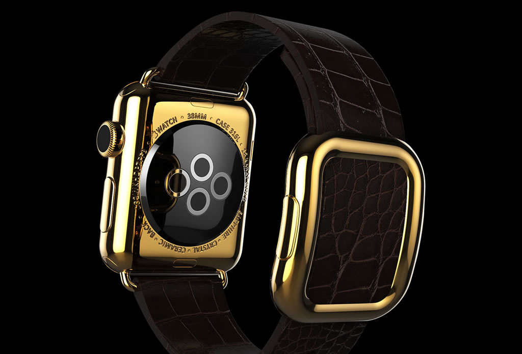 Ridiculously Expensive Apple Watch By Goldgenie (1)