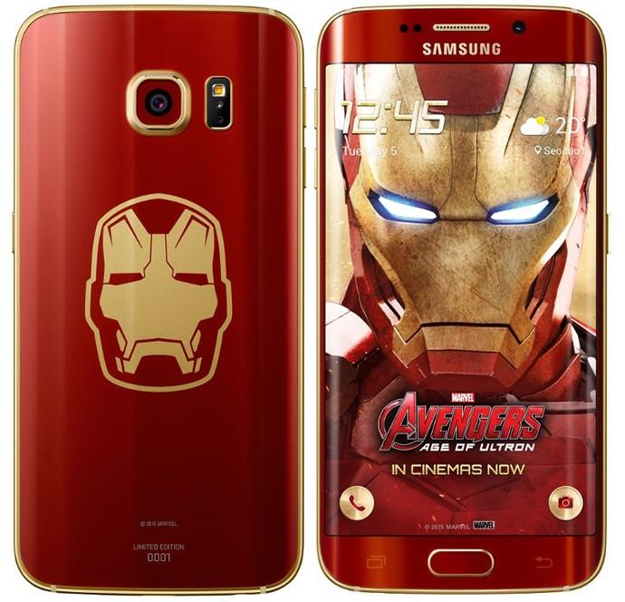 Samsung Galaxy S6 Edge Iron Man Smartphone 2
