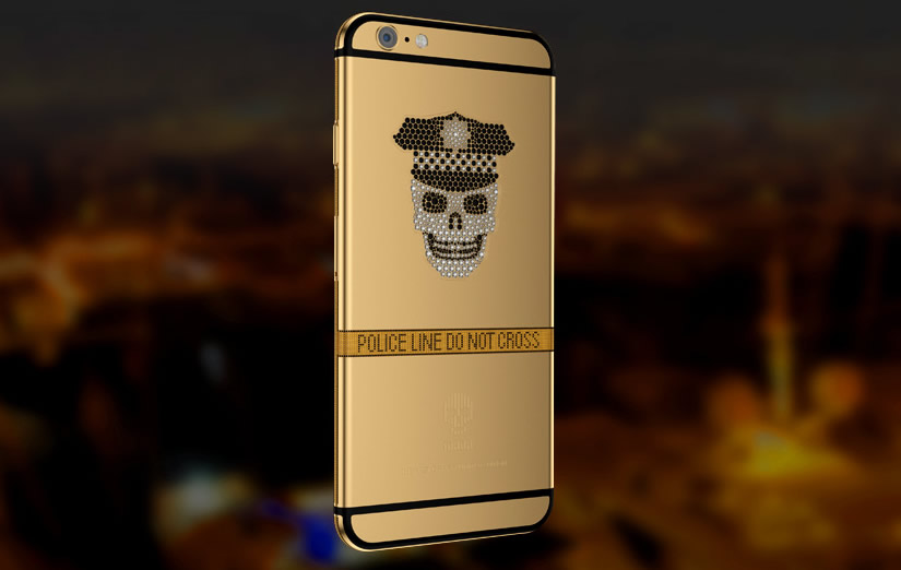 Gold iPhones by Mana skull 3