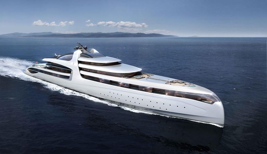Luxurious Admiral X-Force 145 Megayacht (14)