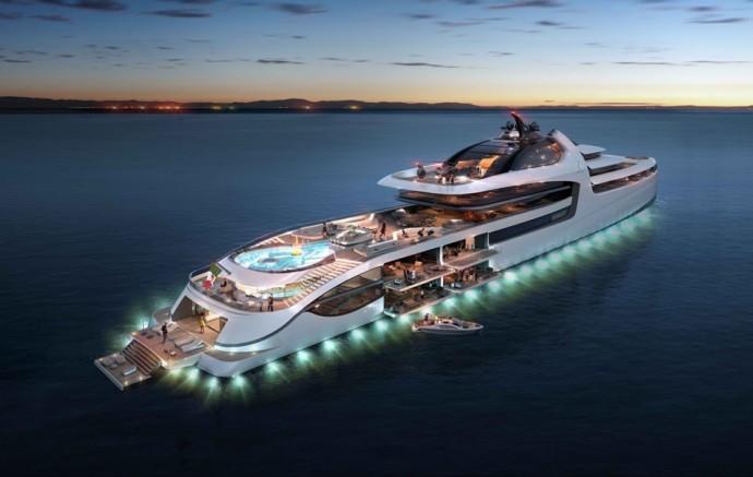 Luxurious Admiral X-Force 145 Megayacht (13)