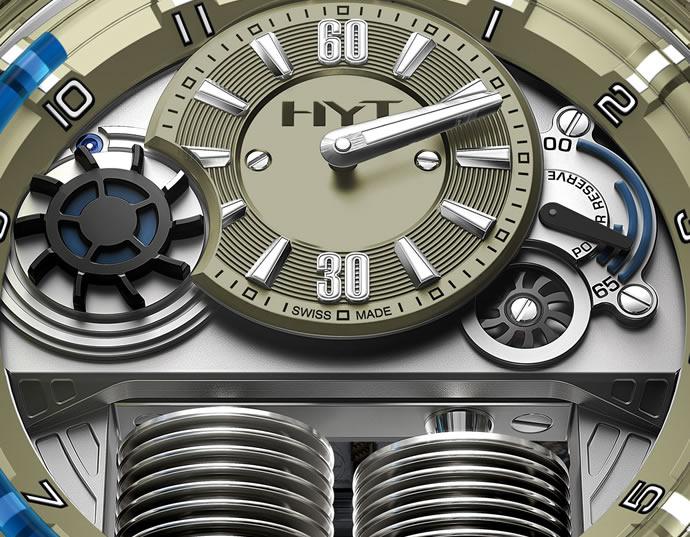 Unique HYT H1 Sand Barth Timepiece (3)