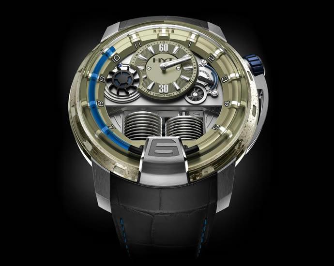 Unique HYT H1 Sand Barth Timepiece (2)