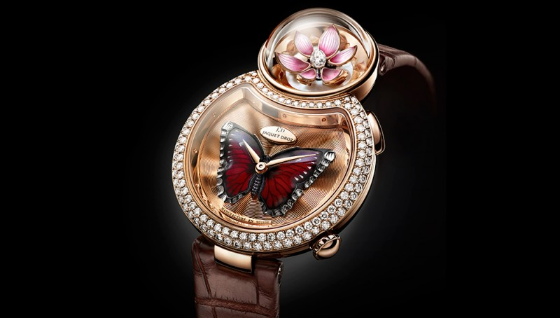Exquisite Lady 8 Flower Watch By Jaquet Droz (5)