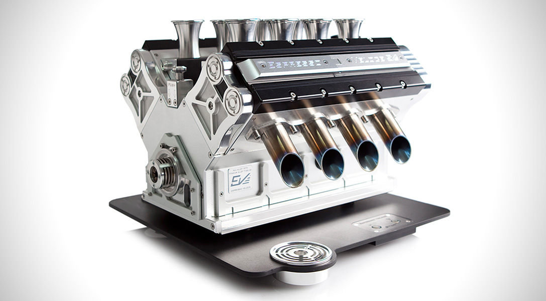 Exceptional Espresso Veloce Titanio Espresso Machine (4)