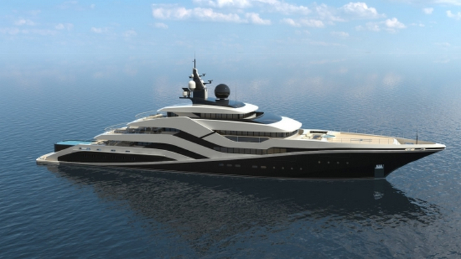 Fabulous Eivissa II Concept Superyacht (2)