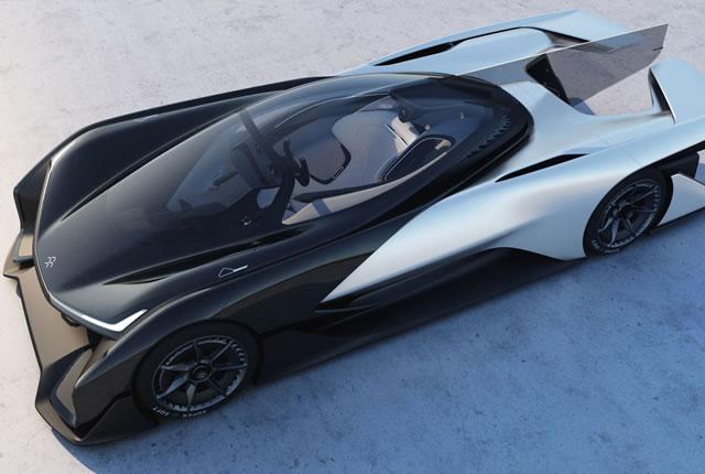 Faraday Future FFZERO1 Electric Concept (9)
