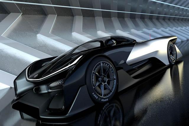 Faraday Future FFZERO1 Electric Concept (16)