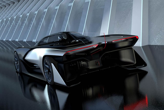 Faraday Future FFZERO1 Electric Concept (14)