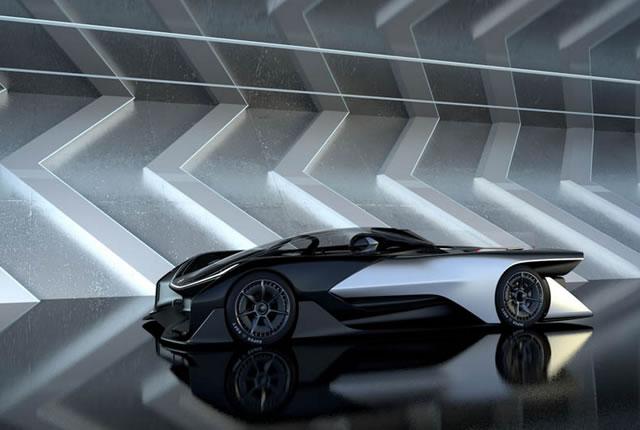 Faraday Future FFZERO1 Electric Concept (13)