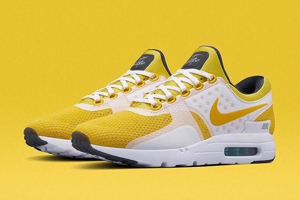 009db13c2b10 The Nike Air Max Zero Receives A Yellow Colorway