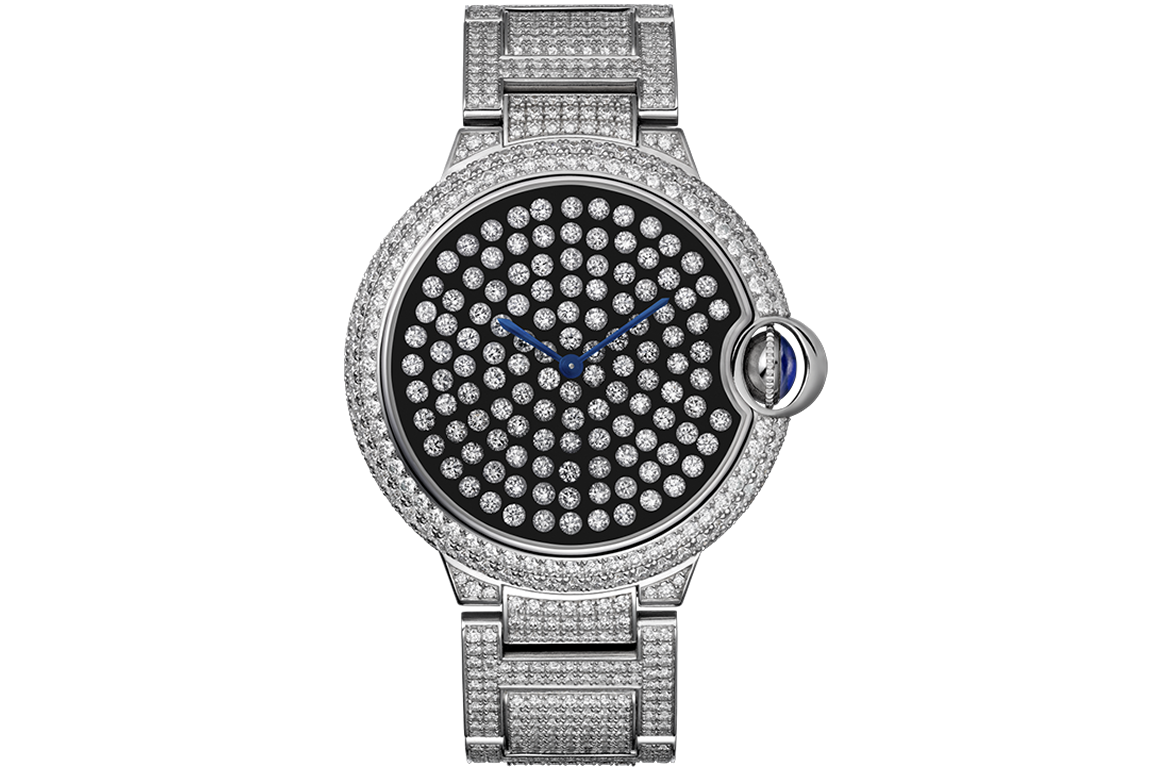 Serti Vibrant Limited Edition Watch By Cartier (4)