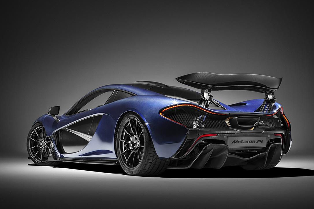 McLaren Carbon Fiber P1 Hypercar Tribute 3