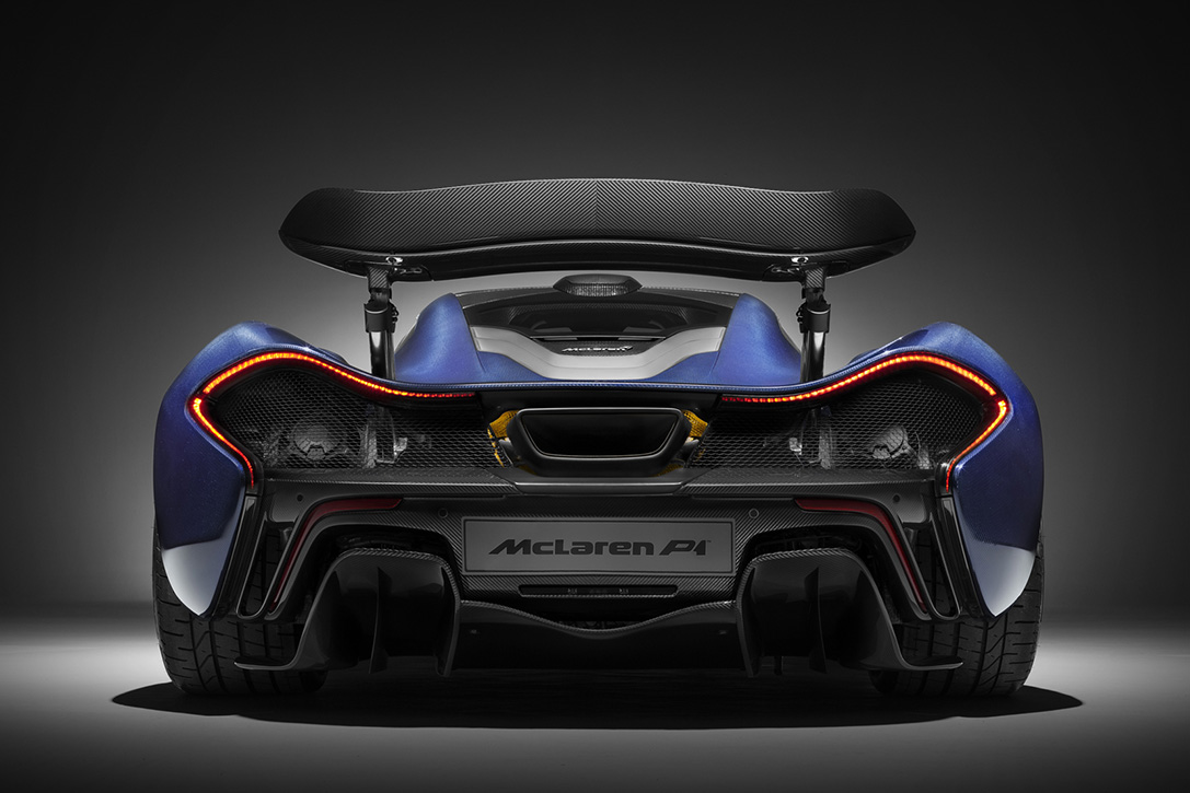 McLaren Carbon Fiber P1 Hypercar Tribute 4